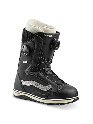 Vans Womens Encore Pro Snowboard Boots (Black/Turtledove, 7.5)