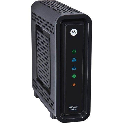 Motorola Surfboard SB6141 DOCSIS 3.0 High-Speed Cable Modem- Black (OEM Brown Box)