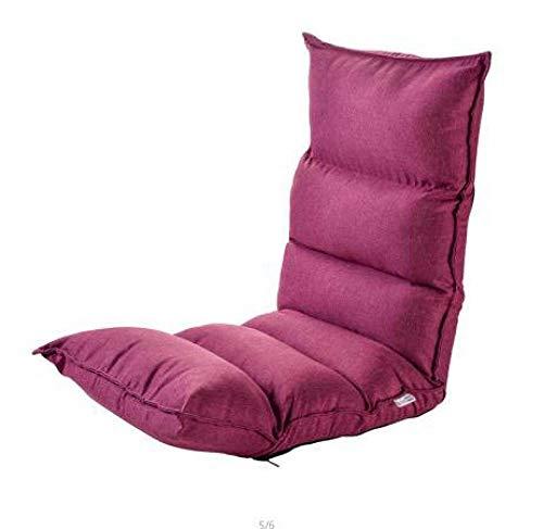 Stoel LKU Woonkamer luie sofa vouwen lakens mensen slaapkamer balkon kamer schattig meisje meisjes netto rode lounge stoel, stijl 5