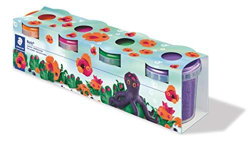 STAEDTLER 8134 02 ST Modelliermassen Spielknete Noris Club-4 farbig Sortiert, Sonderfarben