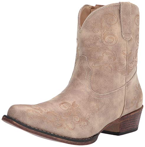 Roper womens Western Boot,Tan,10