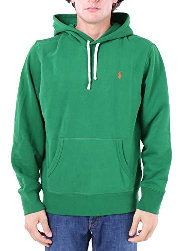 Polo Ralph Lauren Mod. 710766778 Sweatshirt Hoodie Custom Fit Herren Grün S