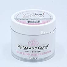 Glam And Glits Acrylic Powder Color Blend Collection BL3001 Milky White 2 oz