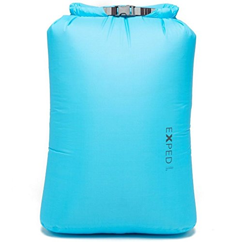 EXPED CLEAR SIGHT FOLD DRYBAG CYAN (40L)