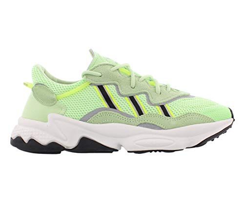 adidas Ozweego Men's Glow Green/Black/Solar Yellow EE6466 (Size: 8.5) ⭐