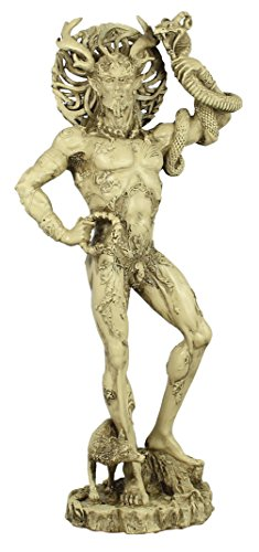 colourliving Dekofigur Cernunnos keltischer Gott Dekoration Deko Figur Dekorationsfigur