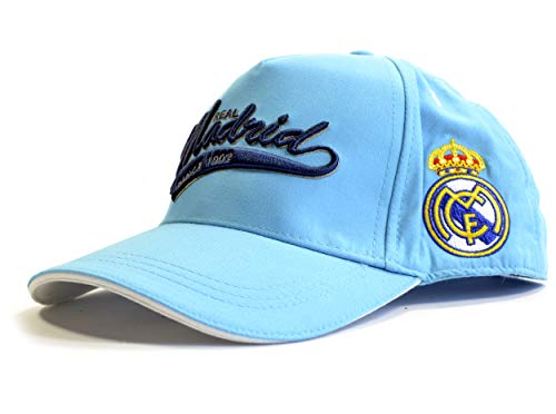 Real Madrid Classic Baseball Cap Blue Football Sun Official Product