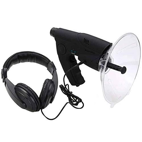 Richtmikrofon/Parabolmikrofon, Abhörgerät,Monocular X8 Bionisches Ohr Langstrecken Vögel Hörteleskop 200M