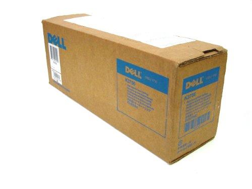 Dell - Cartucho de tóner láser para impresoras Dell 1700, 1700n, 1710 y 1710n, hasta 6000 páginas de capacidad, partes número K3756 y H3730, color negro