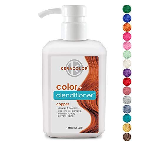 Keracolor Clenditioner Color Depositing Conditioner Colorwash, Copper, 12 fl oz
