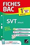 Fiches bac SVT 1re (spécialité) Nouveau programme de Première 2019-2020