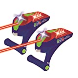 Pj Mask- Pijamas - Batalla Laser Infrarrojo, Luz y Sonido, Color Azul (Lexibook JG940PJM)
