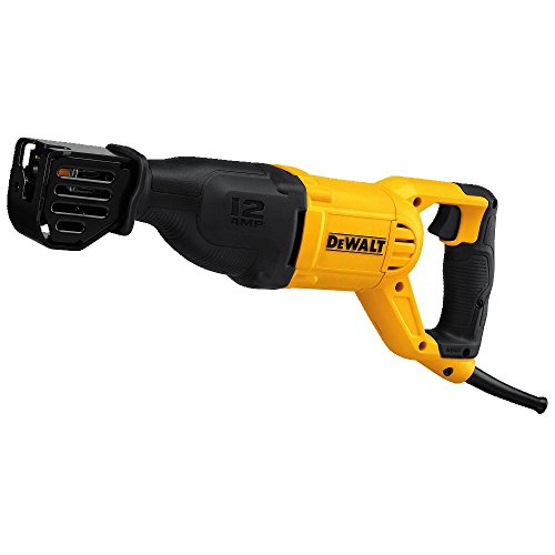 top rated DEWALT reciprocating saw, AC, 12 amps (DWE305) 2020