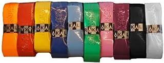 Karakal PU Supergrip Replacement Racquet Grip - Tennis/Badminton/Squash - Various Single Colours (Random Colour, 3 Grips)