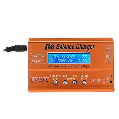 GoolRC Cargador del Balance /Descargador B6 Mini Multifuncional para RC Batería LiPo Lilon Life NiMH PB