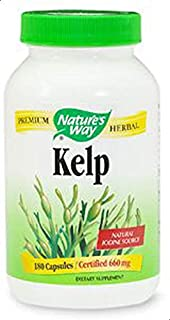 Nature's Way Kelp 660mg with Iodine 180 capsules