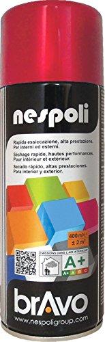 Nespoli Peinture Rouge Rubis - Peinture Pro Brillant - 400ml