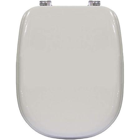 Copriwater Sedile Wc Per Ideal Standard Tesi Bianco Coprivaso Poliestere Alta Qualita Amazon It Fai Da Te