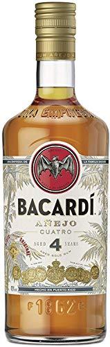 Bacardi Anejo Cuatro Rum 4 Jahre 0,7 Liter 40% Vol