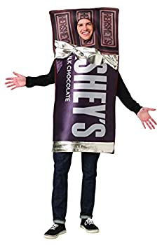 Hershey Chocolate Bar Adult Costume Mens Womens Hershey's Candy Outfit One Size