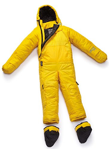 Selk'bag Adult Original 5G Wearable Sleeping Bag: Yellow Flare, Small