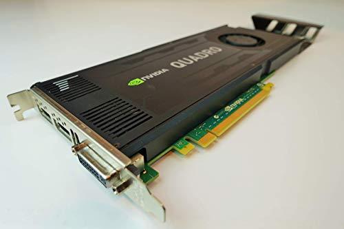 DELL nVidia QUADRO K4000 Kepler 3 GB GDDR5 PCI-E, 768 core CUDA, scheda grafica professionale superba workstation , Dell P/N : D5R4G, CN3GX , (ricondizionata)