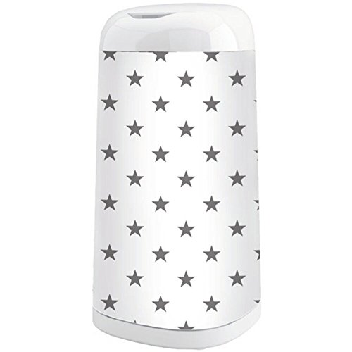 Angelcare, Rivestimento per cestino Dress-Up, Stars, grigio