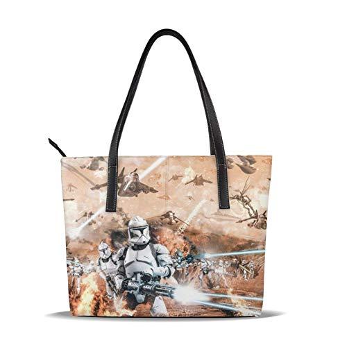 Handtasche aus Mikrofaser-Leder mit Reißverschluss, weich, leicht, wasserdicht, für Frauen, eine Schulter, diagonale Handtasche, geeignet für Arbeit, Reisen, Shopping, Party