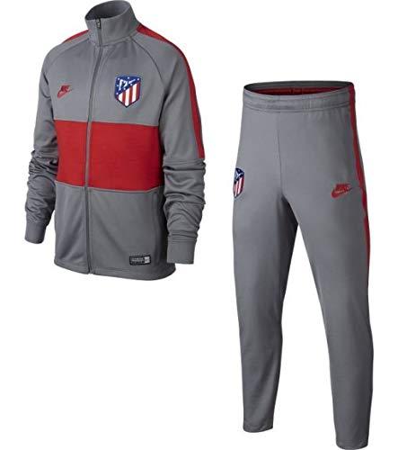 NIKE Chandal Niño Atlético de Madrid Strike 2019/2020 Gris/Rojo AO6747-060