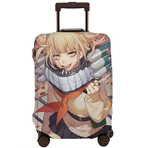 My Hero Academia Himiko Toga Travel Suitcase Protector Scratch-Resistant Dust-Proof Stretchable and Flexible Travel Luggage Protective Cover M