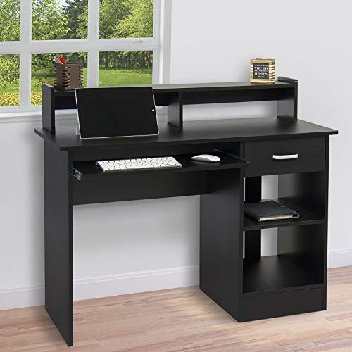 Computer Desk Home Office Laptop PC Table Workstation w/Drawer...