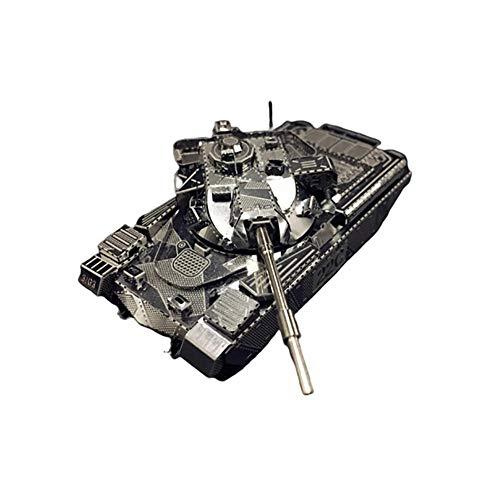 QINGYU 3D Metall Modellbausatz JS-2 Panzer Häuptling MK50 Panzer Baugruppe Modell DIY 3D Laser geschnittenes Modell Puzzle Spielzeug für Erwachsene
