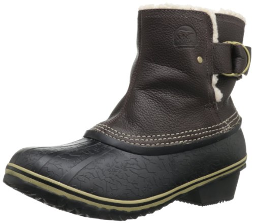 Hot Sale Sorel Women's Winter Fancy Boot,Grizzly Bear/Black,7.5 M US