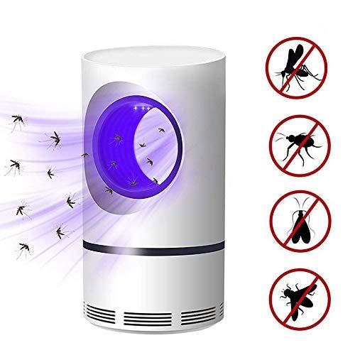 Sooiy USB de 5W de energía eléctrica con fotocatalítica lámpara Mata Mosquitos UV Photocatalys Bicho Insecto Trampa de luz Repelente Control de plagas Hiking Lanterns