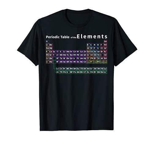 説明付きの元素の完全な周期表 Tシャツ
