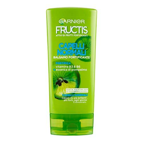 Garnier Balsamo Fructis Hydra Liss & Shine, Balsamo per Capelli Difficili da Lisciare,...