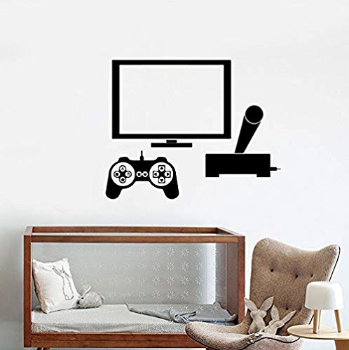 Muurstickers Jhping muur Stickers Woonkamer Slaapkamer DIY Vinyl Home Decoratie Art muurschildering Game Console Pc Game Room Jongen Teen 72 * 57C M.
