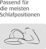 TEMPUR Comfort Schlafkissen Hybrid klassisches Kopfkissen, (Extra Soft), Weiß, 40 x 80 cm - 3