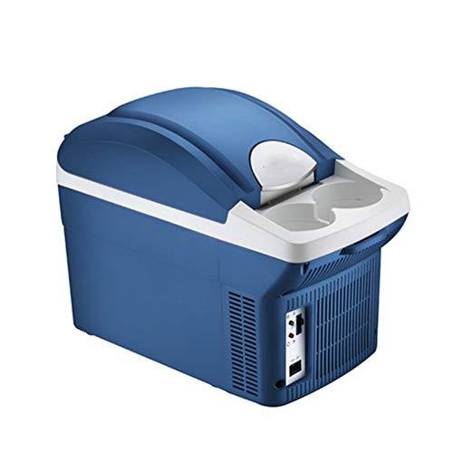 LYA Beweglicher Auto-Kühlschrank, 8L mit großer Kapazität Mini Kühlschrank Stille rauscharme Kalt/Warm-Dual-Use Ausgestattet mit AC- und DC-Stromkabeln