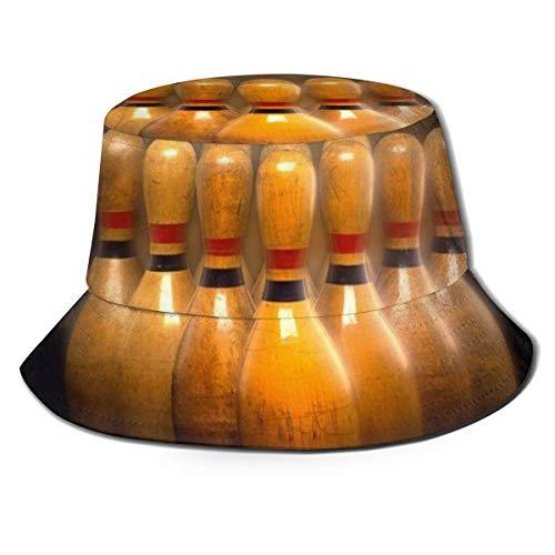 MKH - Sombrero plegable de lona con patrón de cobayas para primavera, verano, viajes, pesca, playa, sol, Bolos, talla única