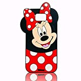 EMF Cute Mouse Case for Samsung Galaxy Note 5,3D Cartoon Animal Silicone Rubber Protective Kawaii Funny Character Cover,Animated Fun Cool Skin Case for Kids Teens Girls Guys Samsung Galaxy Note 5