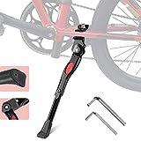 Bike Kickstand Soporte Medio Ajustable para Bicicletas de 22 24 26 Pulgadas