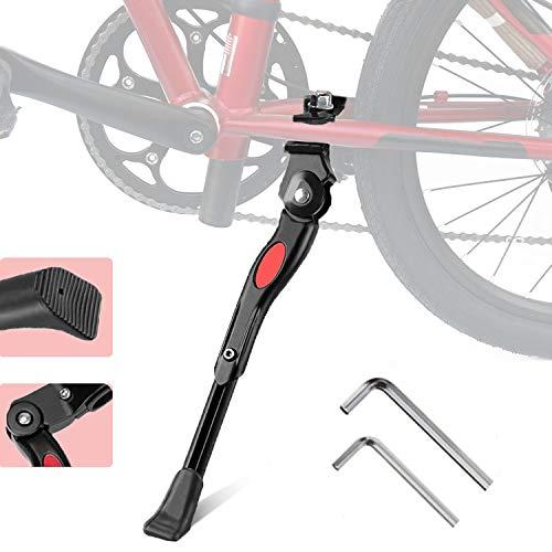 ZOSEN Fahrradständer, verstellbar, mittlere Stütze, für 22 / 24 / 26 Zoll Fahrräder