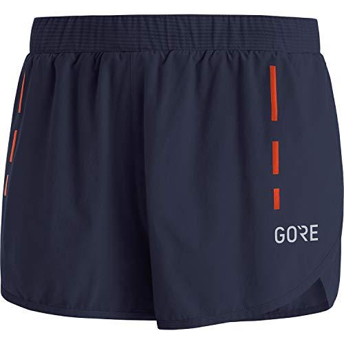 GORE WEAR Kurze Herren Laufhose Split Shorts, M, Marineblau