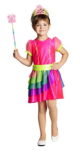 Kinderkostüm - Regenbogenfee Gr. 140