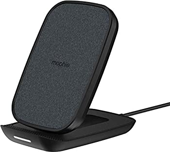 mophie Wireless Charger Qi-Certified Adjustable Wireless Charging Stand for iPhone 12 iPhone SE iPhone 11 iPhone X iPhone 8 10W Fast-Charging Galaxy S20 S10 S9 S8 Note 20 Note 10 Pixel 5