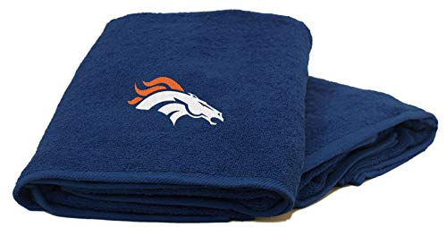 The Northwest Company NFL Denver Broncos 2-Pc Towel Set - 26x15 Hand and 25x50 Bath Towel