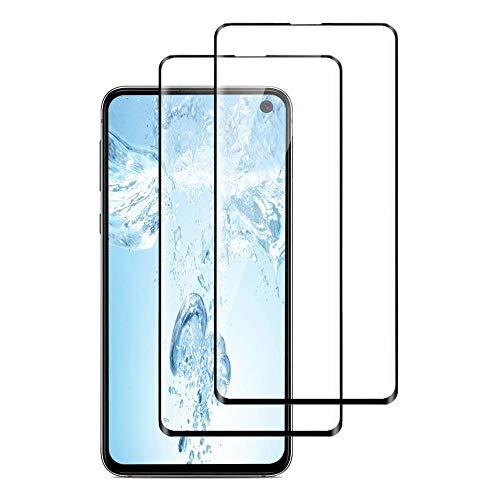 Panzerglas für Samsung Galaxy S10E,3D Vollständigen Abdeckung,9H Härtegrad,Anti-Kratzen,Anti-Bläschen,Hülle Freundllich,Perfekt Schutzfolie für Galaxy S10E