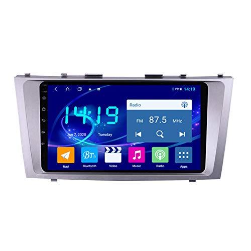 Coche Navegación System 9' Android 9.1 Car GPS Navegación Reproductor De para Toyota Camry 2007-2011 | Pantalla LCD Táctil | USB | WLAN | 4.0 Bluetooth