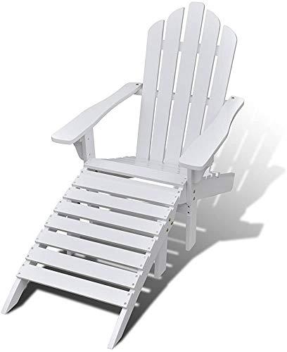 Pasamanos sillas de jardín de madera de estilo retro,White